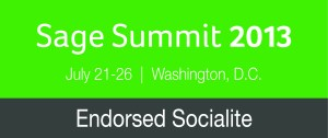 Practical Software Solutions has been chosen as a Sage Summit Endorsed Socialite