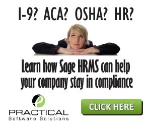 Sage HRMS ad