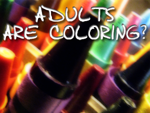 crazy adult coloring trend