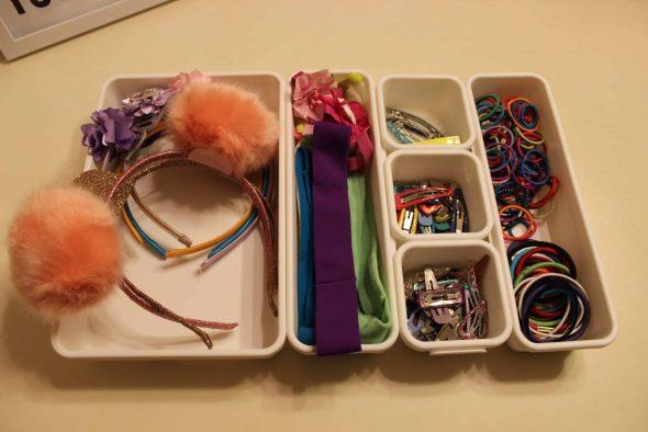 drawer organizer for kids hair accessories