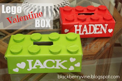 Lego Valentine's Day box