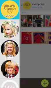 Add the kids in your family to Keepy to organize kids artwork