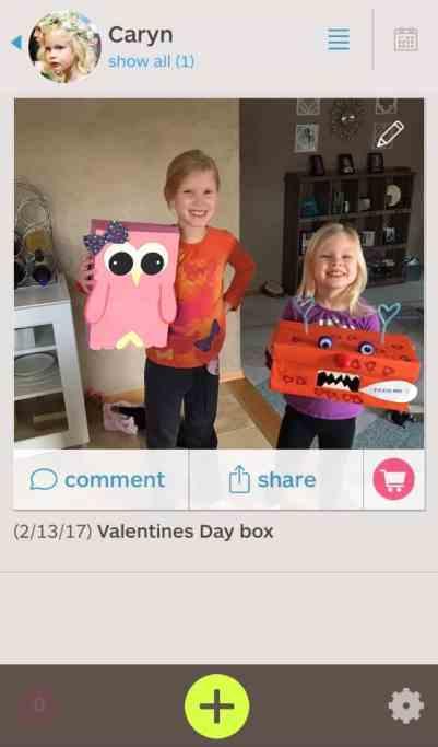 Use Keepy app to organize kids artwork