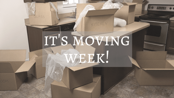 It's Moving Week!