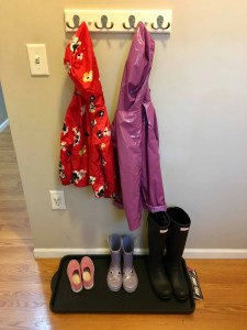 Have a spot where kids can reach to hang jackets and place boots/shoes. A back to school routine should be simple so that it alleviates stress instead of adding more!Here are four routine ideas that will work for any family.~Practigal Blog