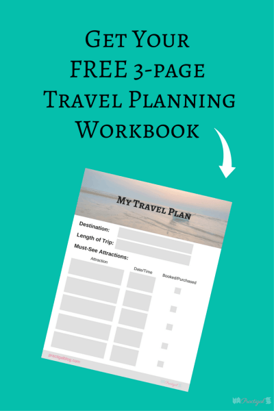 Free three page travel planning workbook. Vacation, trip. Traveling as a minimalist can be so much easier, so much more simple, and so much less stressful! Simply be intentional about what you bring and plan to do. ~Practigal Blog