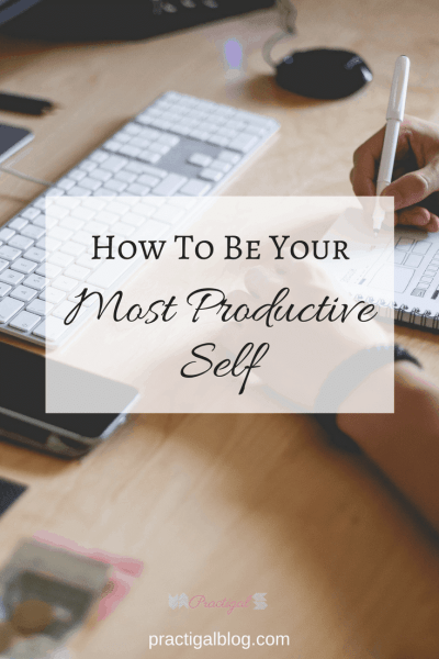 Sometimes, we can't help how busy we are. And for those times, we need a strategy for how to most efficiently conquer our to-do list. Find out the strategy that will help you become your most productive self. Productivity, simplify, declutter, prioritize, priorities, plan, mindset, motivation, focus ~Practigal Blog