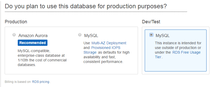 How to create a MySQL database on Amazon RDS | Jack of all
