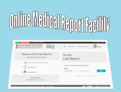 Online Appointment Medical Report Facility Government Hospitals