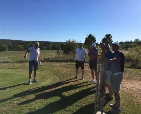 Golfclub Praforst Platzbegehung mit Matthias Rehberg - Regelkunde live am Platz 1