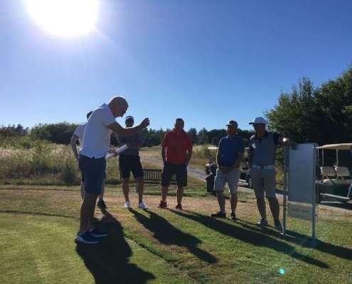 Golfclub Praforst Platzbegehung mit Matthias Rehberg - Regelkunde live am Platz 2