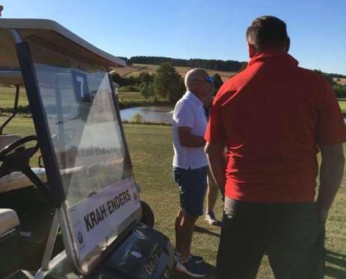 Golfclub Praforst Platzbegehung mit Matthias Rehberg - Regelkunde live am Platz 9