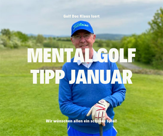 Golfclub Praforst Mental Tipp Januar 2021