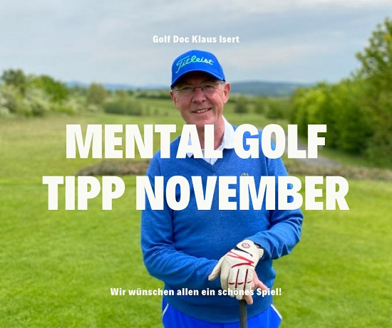 Golfclub Praforst Mental Tipp November 2020