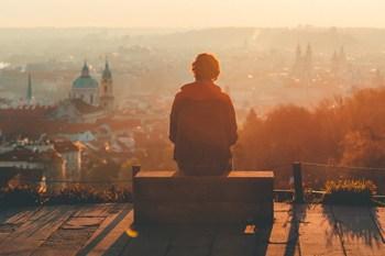 interessante Orte in Prag - Blick über Prag