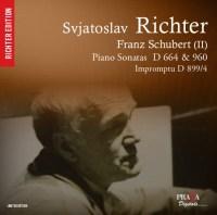 FRANZ SCHUBERT : Piano sonatas D. 960, 664, Impromptu D. 899 - S. Richter