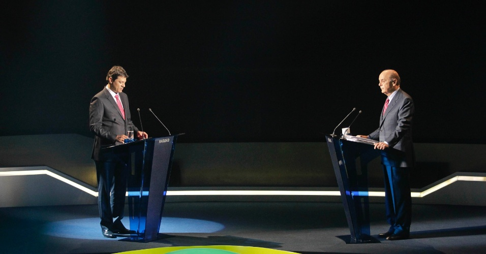 serra haddad debate band datafolha
