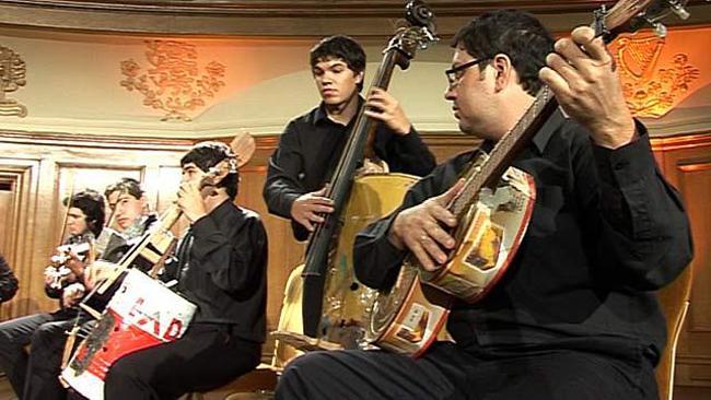 orquestra lixo paraguai