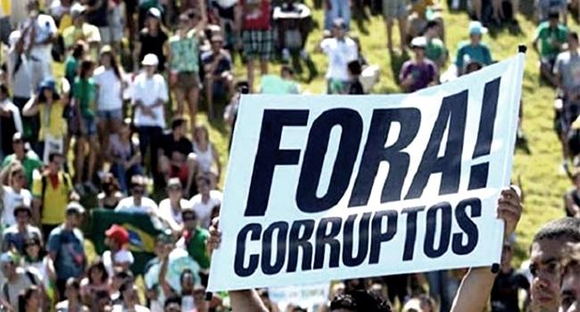 políticos direita corrupção cínicos cegos