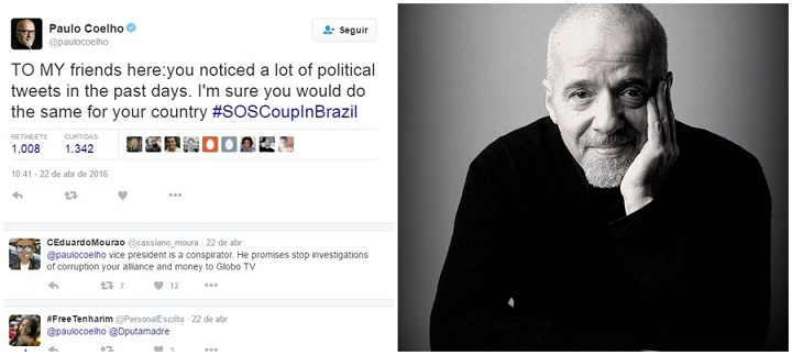 paulo coelho golpe impeachment brasil