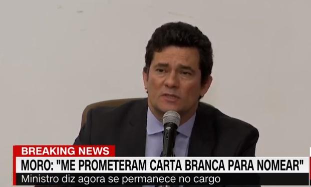 URGENTE: Sergio Moro confirma saída do governo e descasca ...