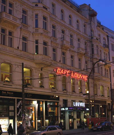 Cafe Louvre in Prague