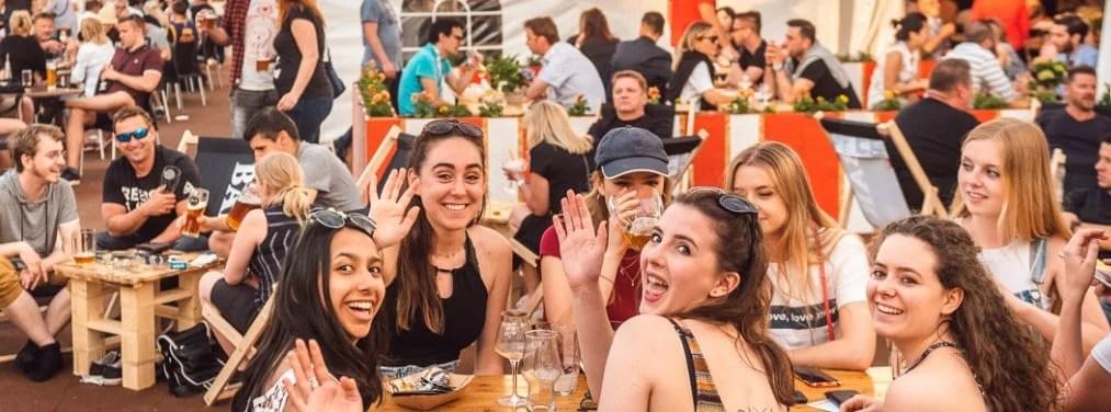 Den store ølfestivalen i Praha i 2019