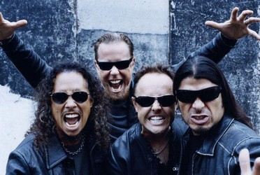 Metallica konsert i Praha