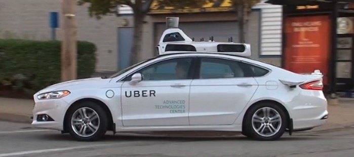 Uber's Self-driving vehicle is antagonizing the law of California