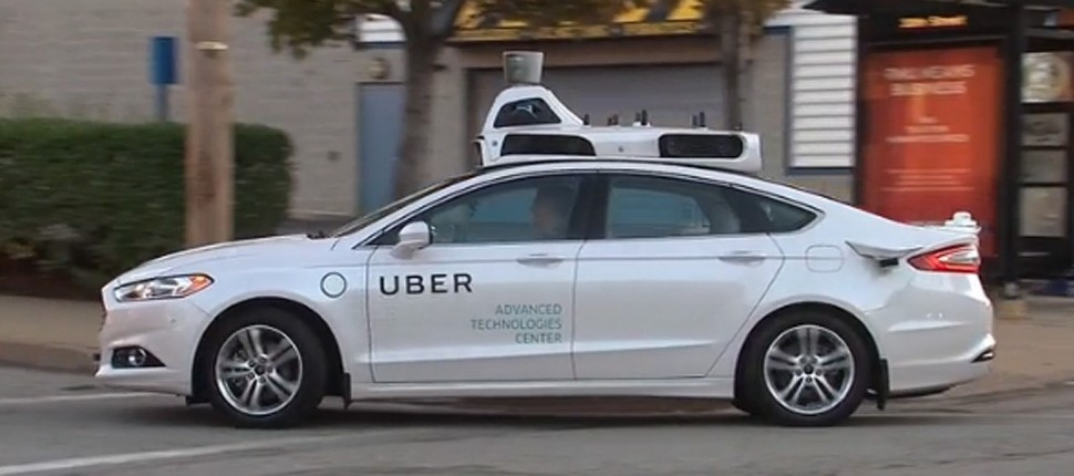 Uber's Self-driving vehicle