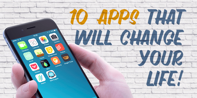 10 Applications That Will Make Difference In Your Life
