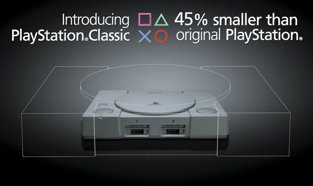 SONY BREAKS THE MARKET AND ANNOUNCES ITS RETRO CONSOLE: THE PLAYSTATION CLASSIC