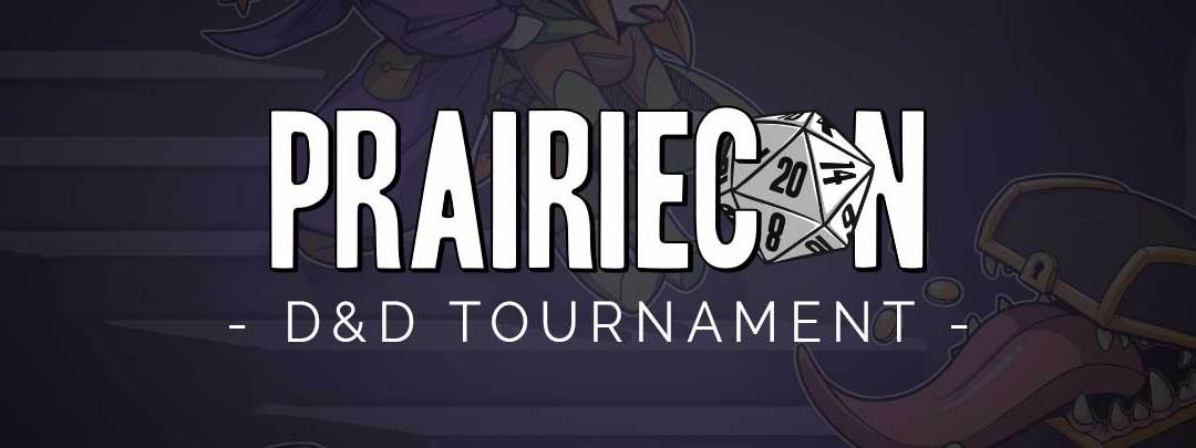 PrairieCon XL D&D Tournament – Almost Full!