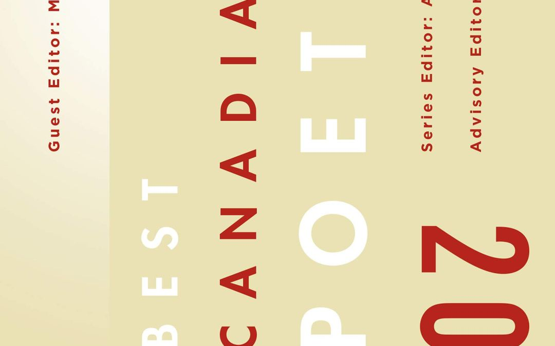 Best Canadian Poetry 2020 Ed. by Marilyn Dumont