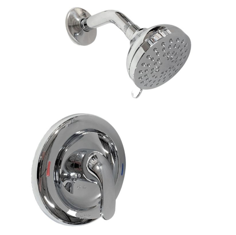 moen adler 82604 single handle 4 spray shower faucet with valve in chrome