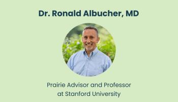 Introducing Prairie Advisor Dr. Ronald Albucher, MD - Psychiatrist