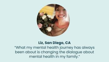 Testimonials: Liz's Mental Health Lessons