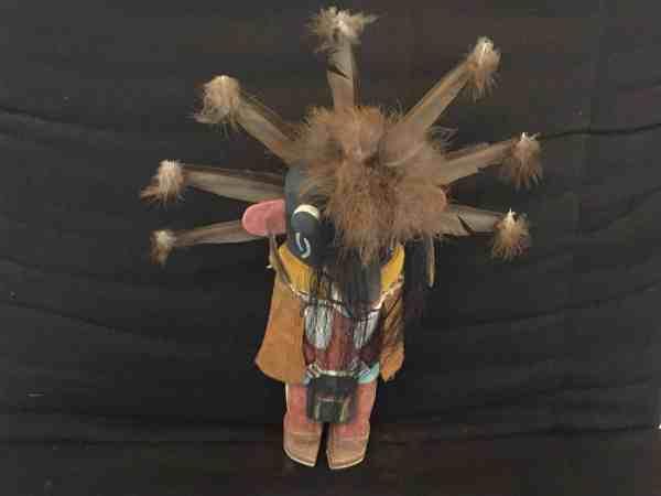 , Michael Adams (Hopi) – Tsaveyo (male Ogre Kachina)