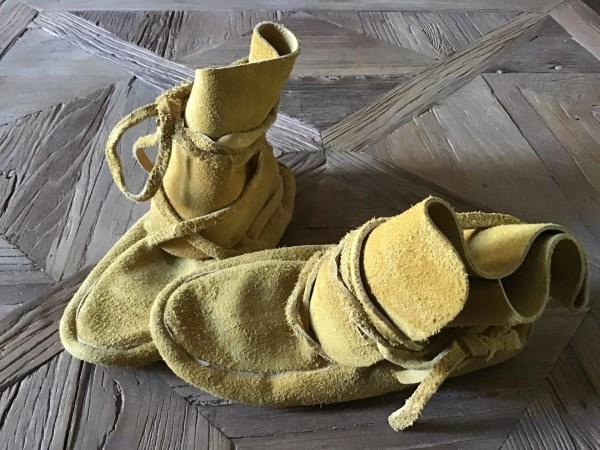 , Hohe Moccasins Boots (Blackfeet)