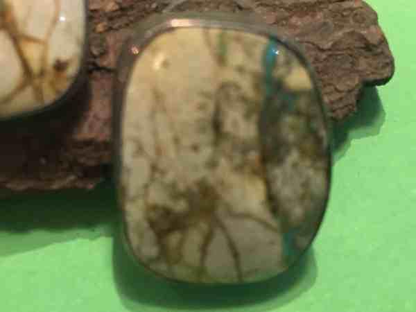 , Bill Mex (Navajo) – Ohrstecker mit Stein