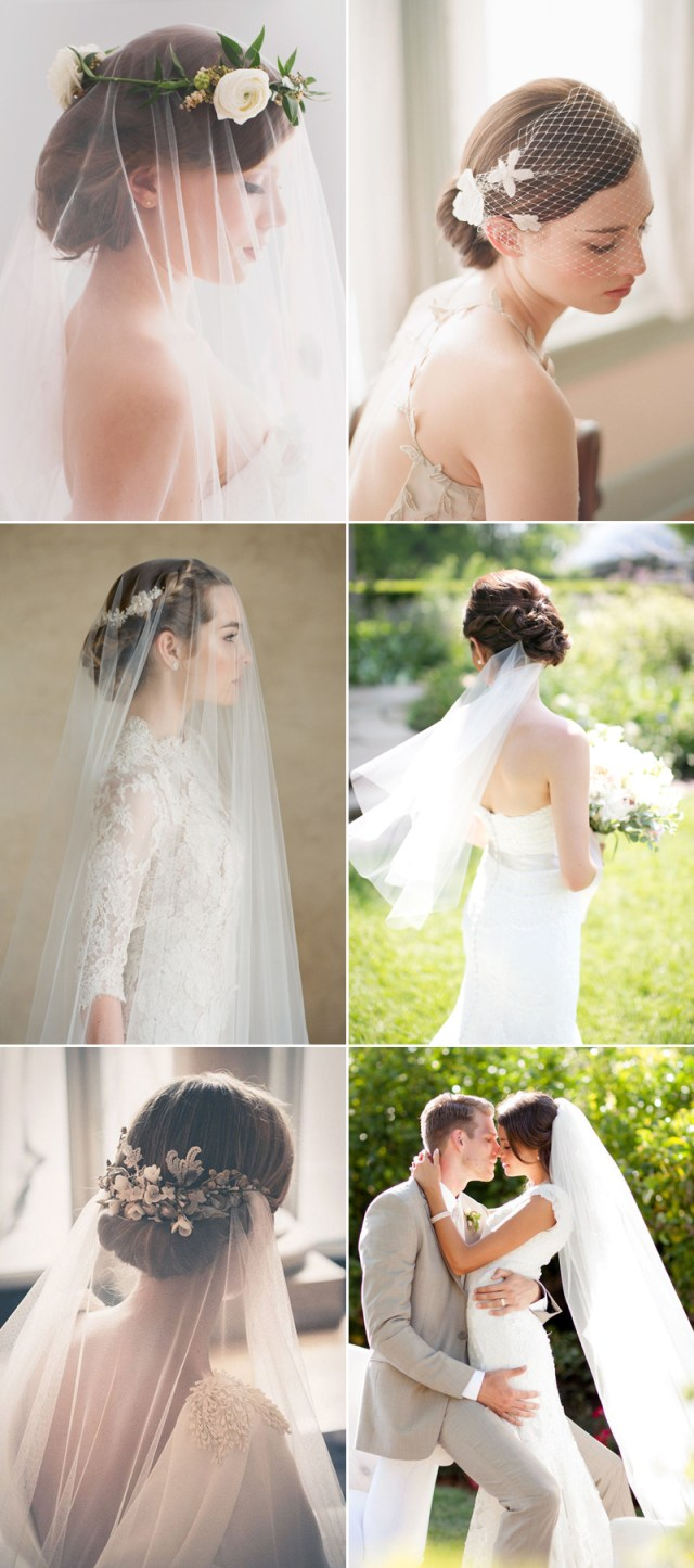 5 chic bridal hairstyles that look good with veils! - praise