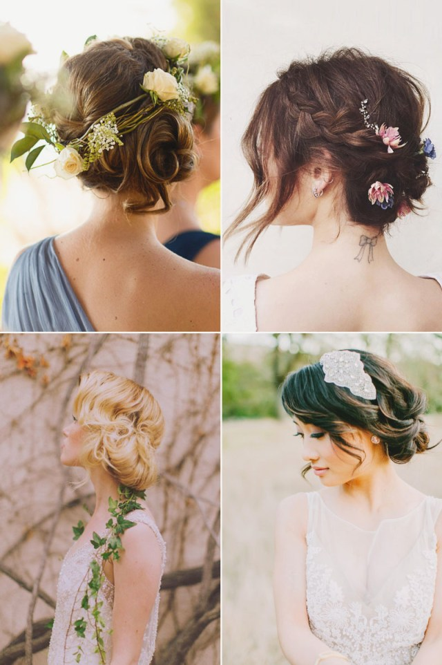 20 totally chic on-trend ways to style your bridal bob