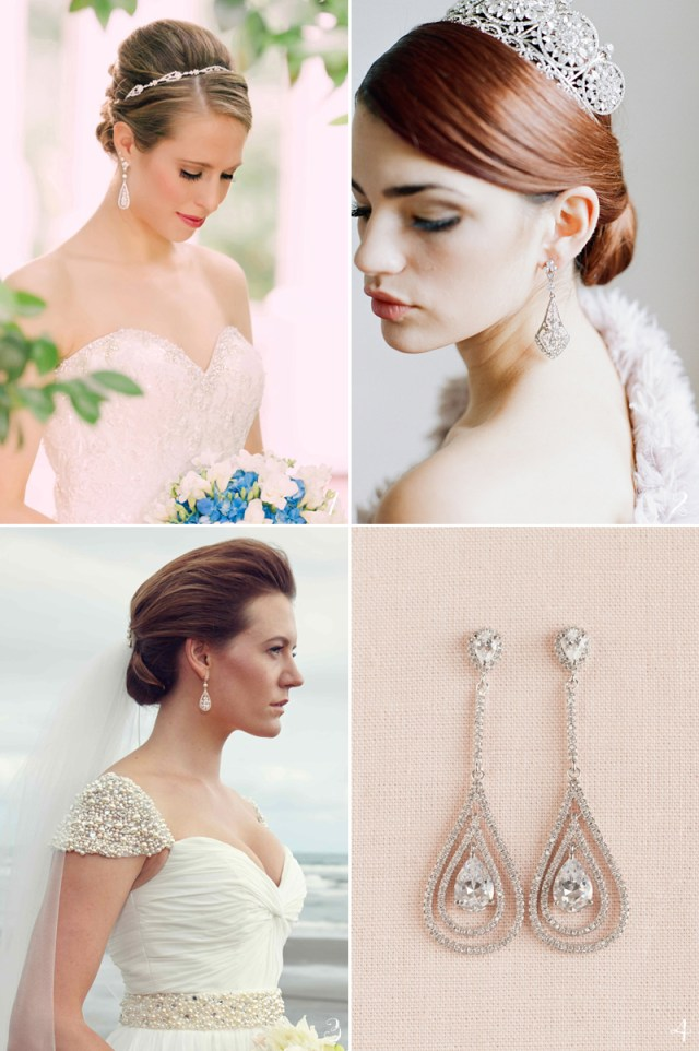 20 flattering bridal earrings for every face shape! - praise