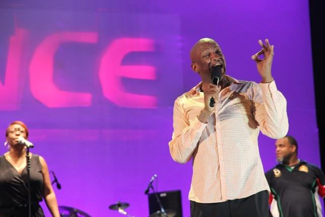 Pastor Donnie McClurkin sang with so much passion and anointing