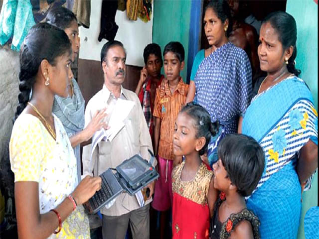 ap government distribute money for poor people