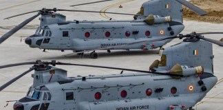 indian chinook helicopters