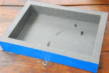 Spodná nádoba vytretá silikónom