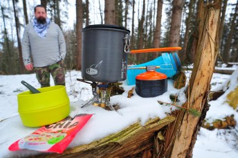 varič GSI Outdoors Pinnacle 4 Season Stove
