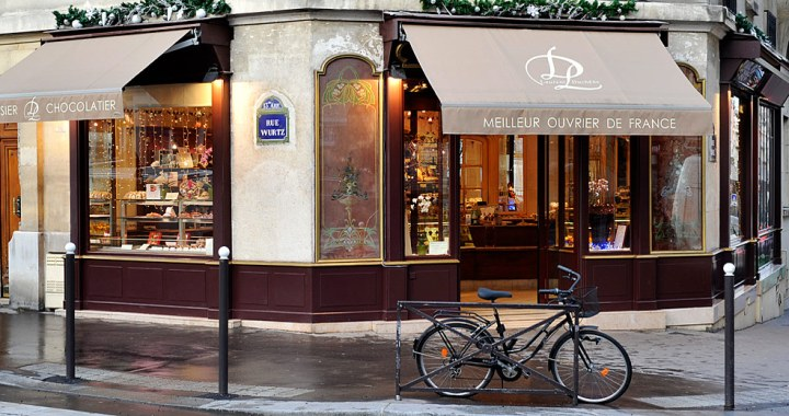 Boutique Laurent Duchêne, pâtissier à Paris 15e