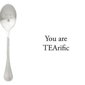 Message spoon tearific